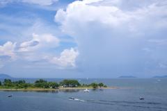 真夏の琵琶湖1