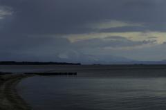 冬の琵琶湖畔2