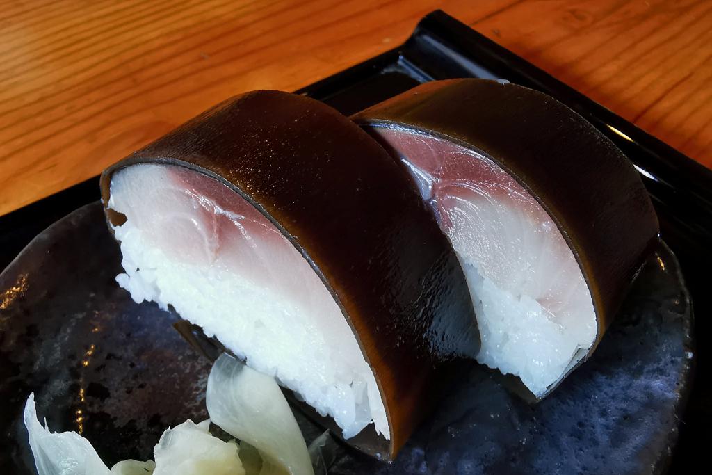 朽木 鯖寿司