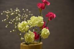 床の間の生花