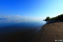 蒼き琵琶湖