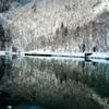 ★ダム湖の冬