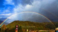 半円の虹をあなたへ