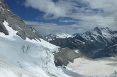 ユングフラウの氷河