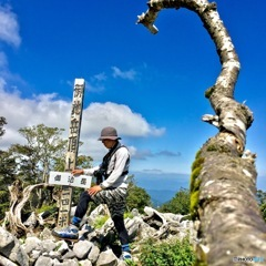 鈴鹿山脈最高峰 御池岳1247m