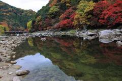 香嵐渓紅葉当たり年