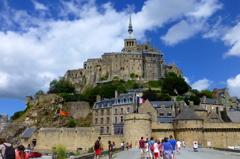 Le Mont Saint-Michel 工事中