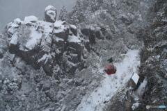 真冬の大黒岩