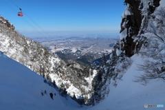 大雪の本谷