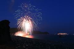 飛鳥も見ていた熊野大花火大会