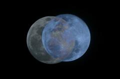 中秋の名月とスーパームーン