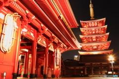 浅草寺 夜景