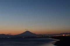 Fuji 夕暮れ