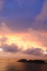 ウェザーステーションからの夕日4