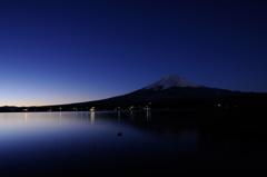 富士 夜明け前