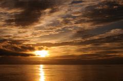 人生で一番の夕日