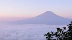 富士の稜線はやっぱり美しい
