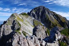 前劔から劔岳本峰