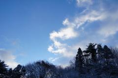雪のち晴れ