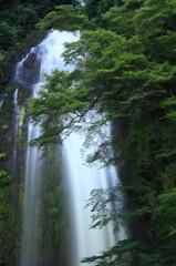 箕面の大滝 ライトアップ前