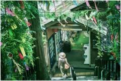 七月駅ノ風景