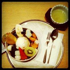 cream mitsu-mame!