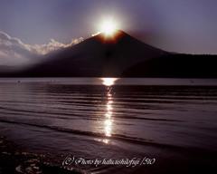 山中の八光芒
