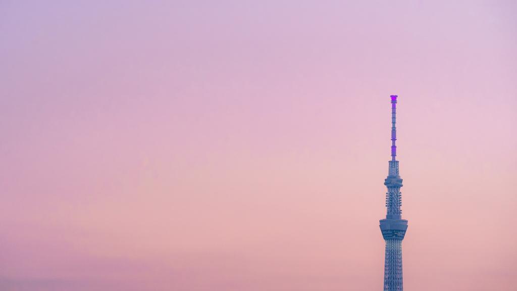 Purple Pink Orange Sky