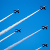 SAYONARA国立競技場 ブルーインパルス展示飛行_04