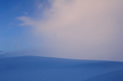 広がる雪色