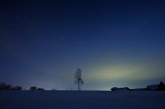 丸加高原の夜