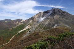秋の茶臼岳