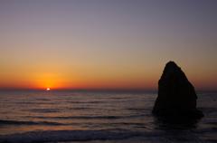 二ツ島の日の出