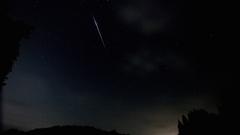 ペルセウス座流星群(Perseids) 大火球 流星 天体 GH1 Lumix