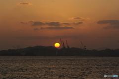 門司港の夕暮れ