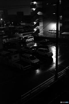 台風17号の夜