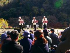 山の中の音楽会