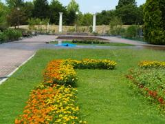 夏の植物園