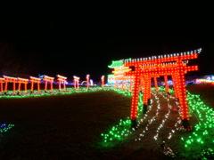 千本鳥居と八坂神社