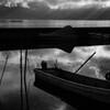 諏訪湖 陰影