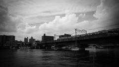 鶴見線が渡る川