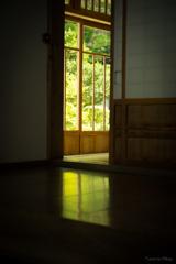 坐禅堂の明かり