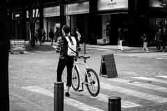 自転車に乗って ♪