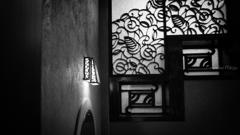 窓辺の明かり