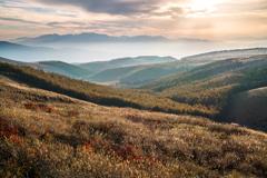 晩秋の霧ヶ峰高原②