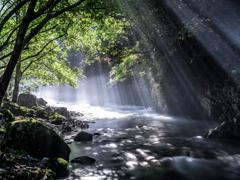 光芒の円原川2