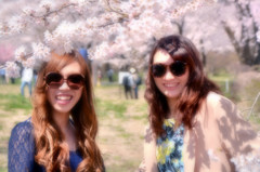 桜でルンルン♪