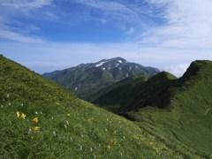 白山を望む 3