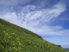 白山を望む 2