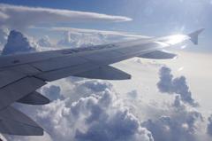帰路の飛行機*